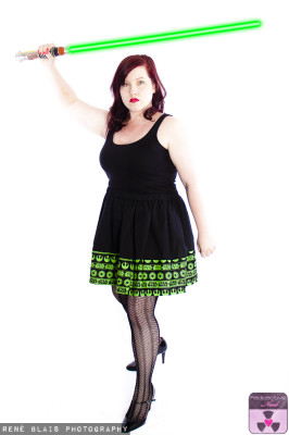 GREEN JEDI BOARDER SKIRT